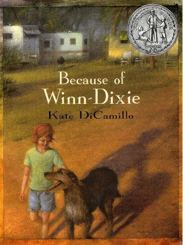 book cover of Kate DiCamillo's Because of Winn-Dixie