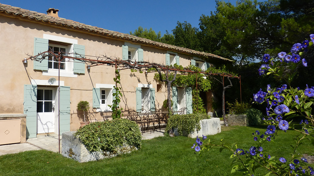 The Domaine is surrounded by Splendiferous Plants, Flowers, and Vineyards.