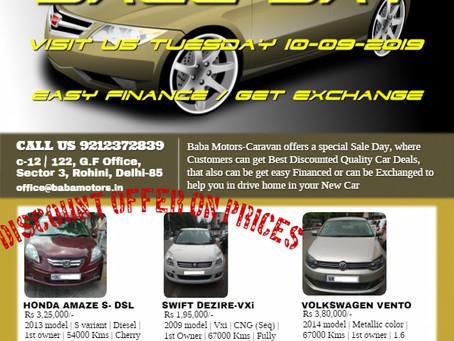 BUY YOUR FAVORITE CAR, VISIT BABA MOTOR'S CARAVAN - Call / Whatsapp at 9212372839