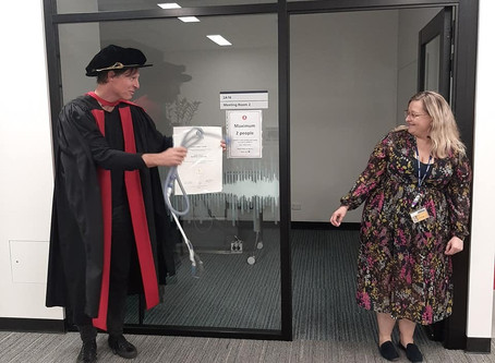 Honours for CRE student Nicole Grivell