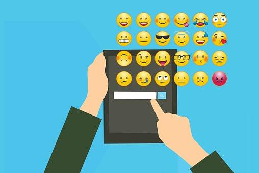 emojis, emoticones, texto, blog, se el jefe, hectorrc.com