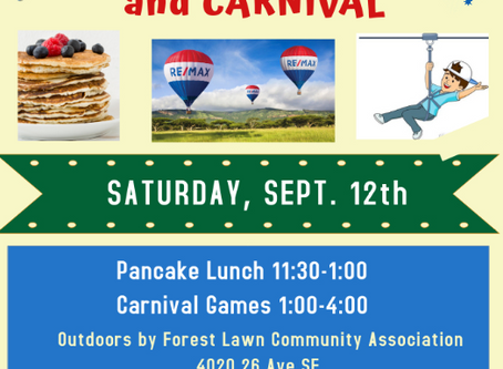 Free Pancake Lunch and Carnival Mighty 70th explorer Scouts and Lions Club of Calgary