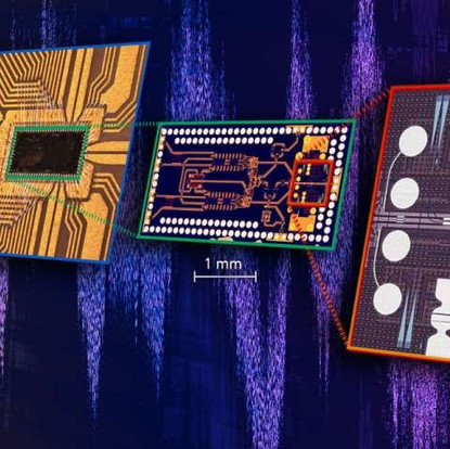 A completely new plasmonic chip for ultrafast data transmission using light