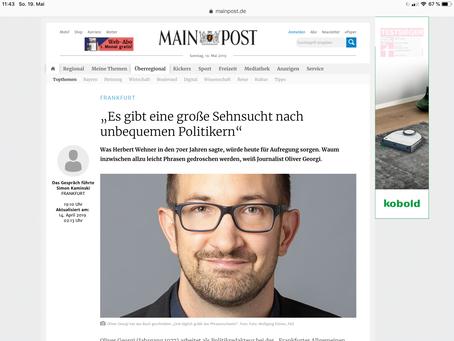"""Interview mit der """"Mainpost"""""""