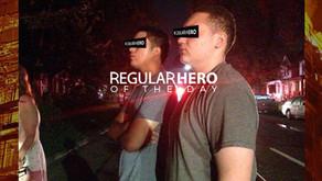 REGULAR TEENAGE HEROS HELP SAVE LIVES FROM BURNING BUILDING