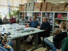 Conferencia na Universidade de Lisboa