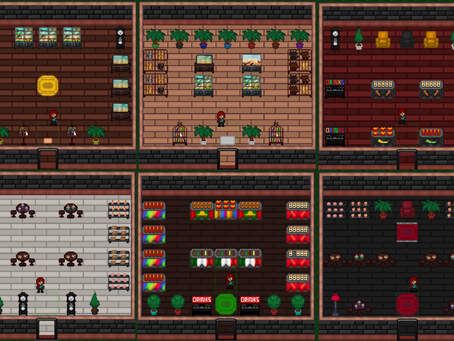 New Main Street Closed Alpha Content: New Shop Wall Colors & Functional Inventory Coming Soon!