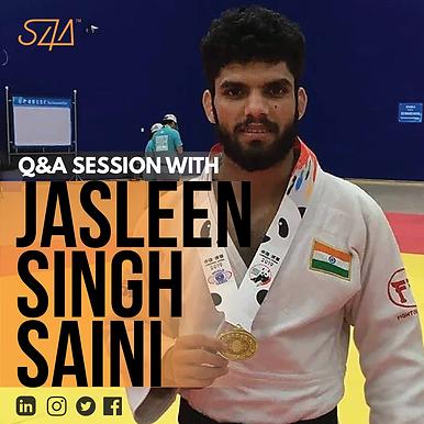 Q&A Session with Jasleen Singh Saini