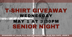 Senior Night and T-Shirt Giveaway
