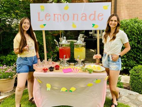 DIY Lemonade Bar for your Next Party