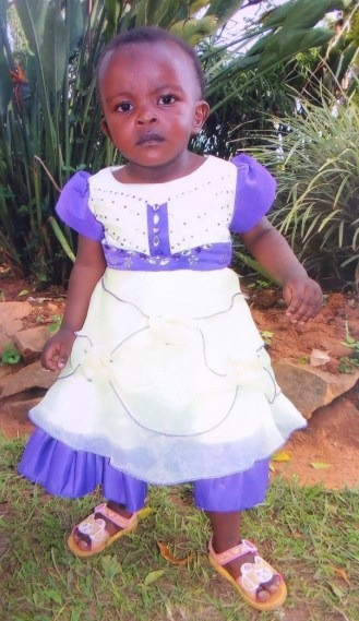 My daughter, Chelsy Kaseyi Nyamu.