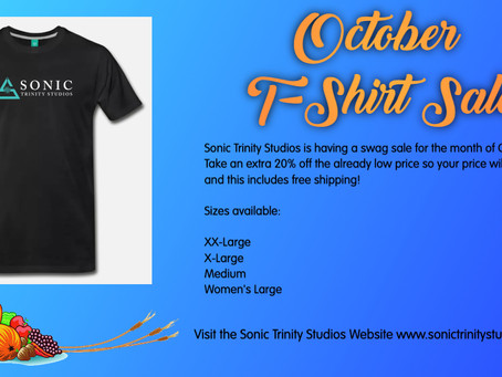 October Special on STS T-Shirts - Extended