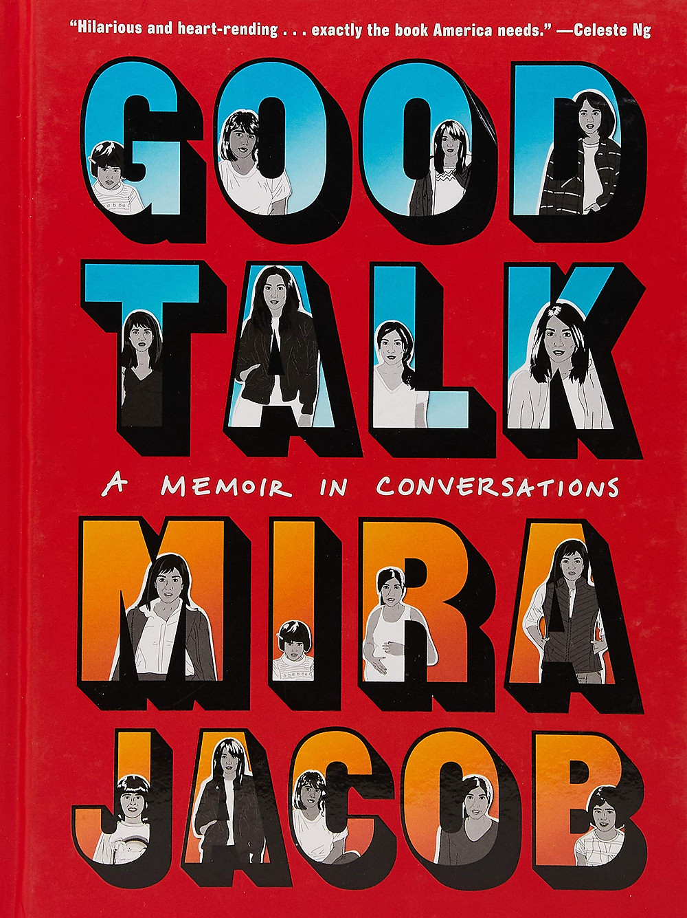 Good Talk by Mira Jacob : the book slut book reviews thebookslut