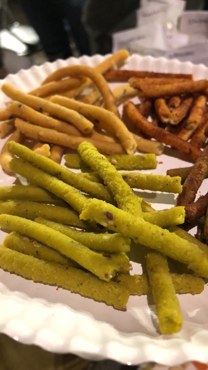 Sabores de Churritos de amaranto y nopal - FLOR DE AVELLANA
