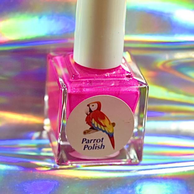 Parrot Polish Piranha Pink