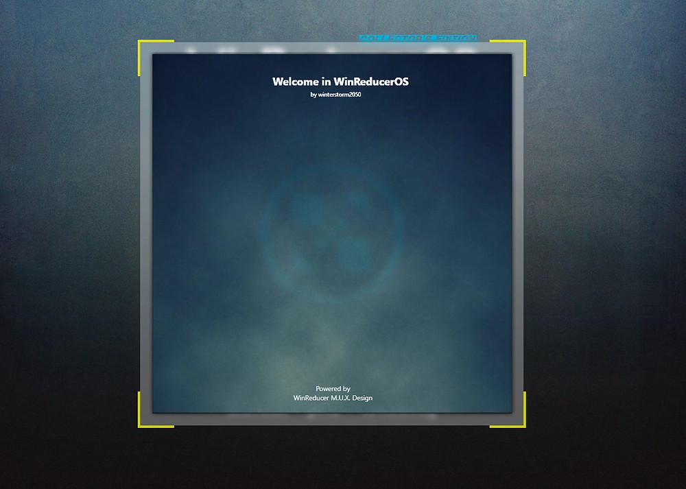 WinRedcuerOS Software GUI Design