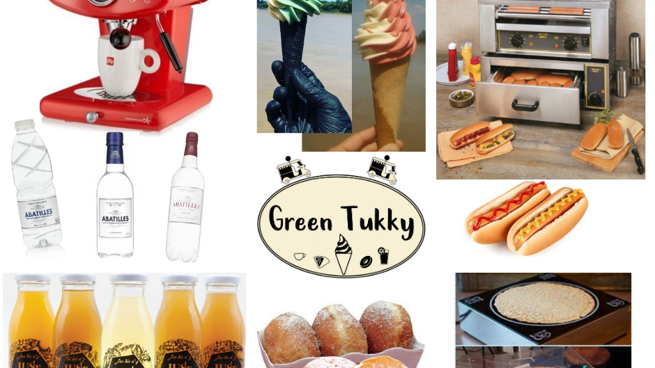 GREEN TUKKY® products between salty and sweet