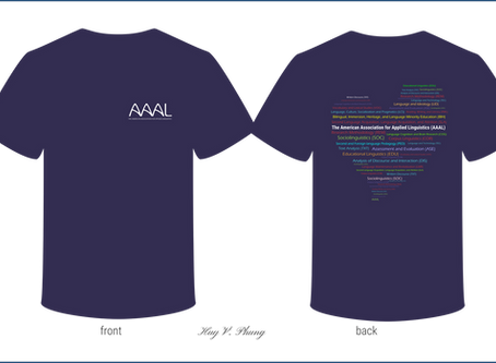 Winner of the AAAL T-shirt design competition!