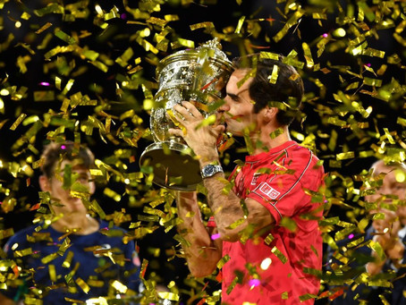 FEDERER (SUI) WINS 103RD TITLE IN BASEL