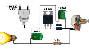 L93, 1000 Watts Dimmer Circuit Using BT139