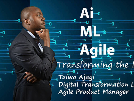 The role of Agile in developing Artificial Intelligence and Machine Learning applications