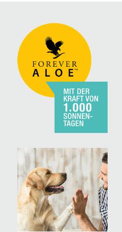 Aloe Vera Forever living 1000 Tage Sonnenlicht Tierheilpraktiker