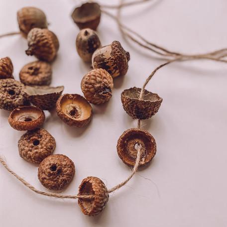 ~Cuentas de Bellota~ Acorn Beads