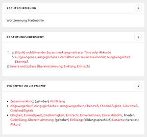 Begriffserklärung nach Duden (Bild: Screenshot duden.de) evoo ag
