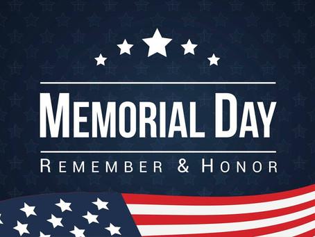 Upper Perkiomen Memorial Day Events