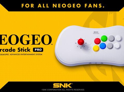 SNK kündigt NEO GEO Arcade Stick Pro an