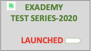 Exademy Test series : Launched