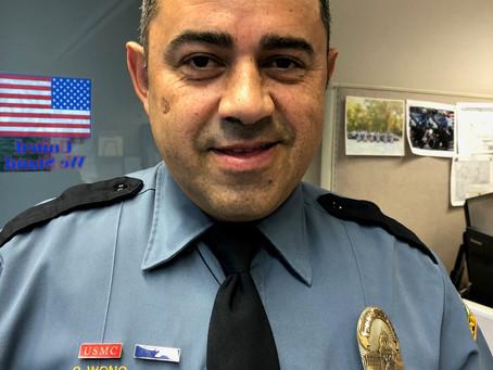 Congratulations SPPD Officer Wong