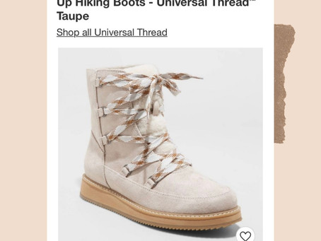 Target New Arrivals: Hiking Boots