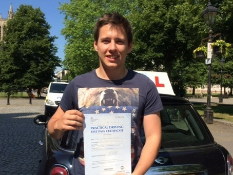Well Done Simon, Zero Minors and First Time Pass, amazing achievement.