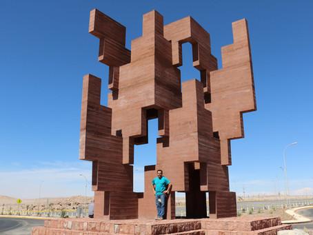 """""""Trama del Tiempo"""": una arquiescultura que rescata la identidad andina en el Norte de Chile"""