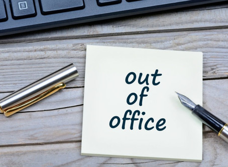 Out of Office!