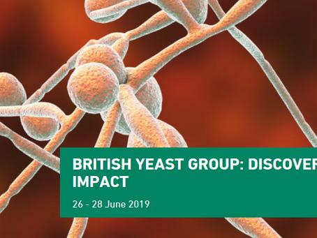 The 2019 British Yeast Group meeting 26-28 June 2019, Newcastle, UK