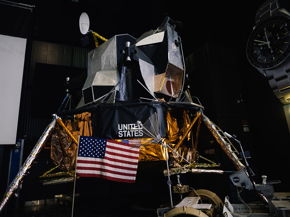 Lunar lander scale model