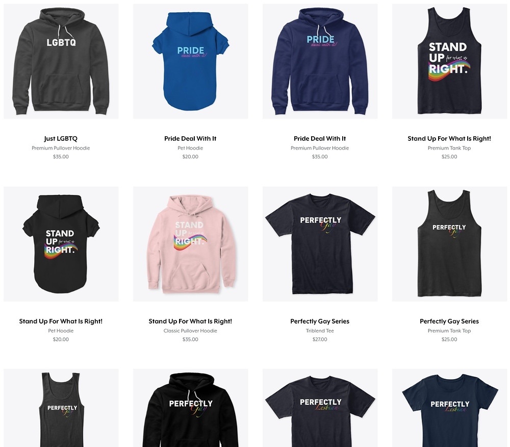 Shop LGBTQ Stories Merch Store!