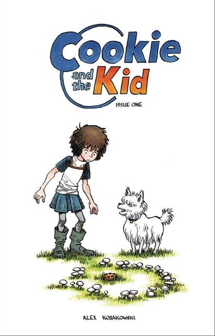 Cookie and the Kid, issue #1, cover, Kosakowski