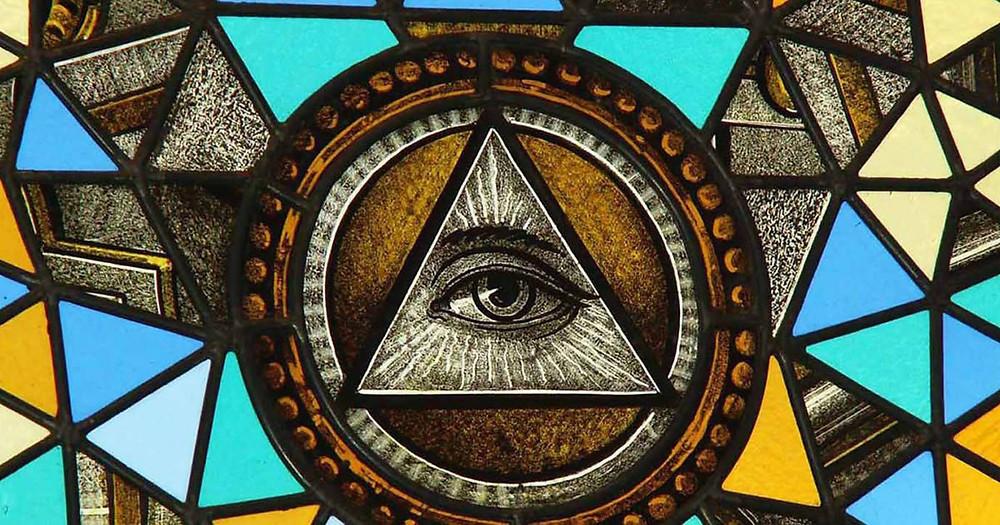 """Maçonaria - Santo André ′′ figura a passagem da antiga lei para a nova lei quando abandona o seu primeiro mestre João Batista [...] """""""