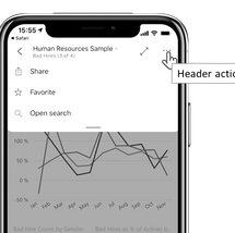 Re-imagine headers and navigation in the Power BI Mobile apps