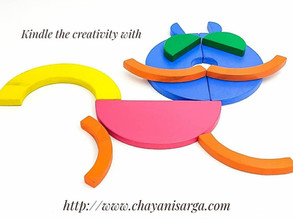Infinite hours of fun with the Wooden circle set