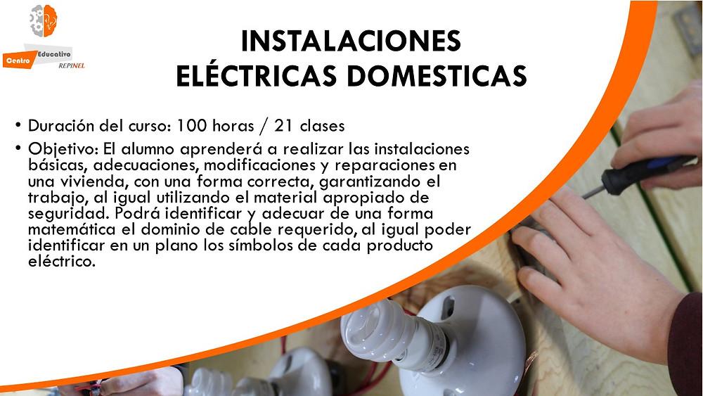 Curso de instalaciones electricas domesticas