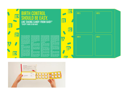 Birth Control Packaging Design Draft Update