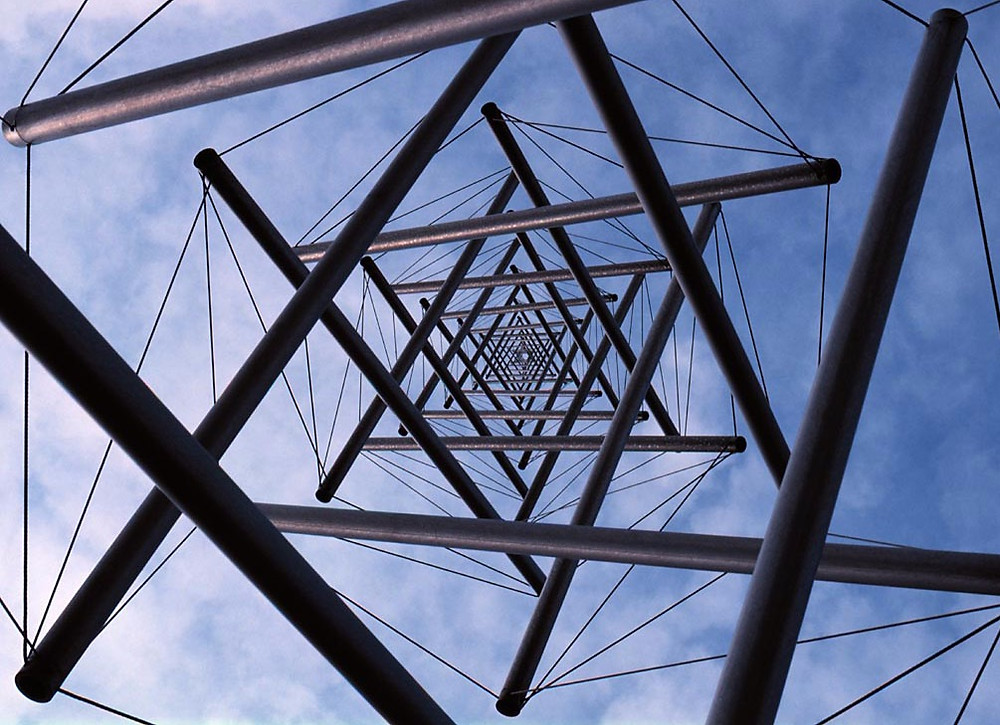 Kenneth Snelson, Needle Tower, 1962