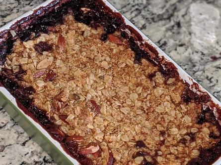 Gluten-free Blueberry Dumpcake