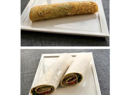 Eggerullade/ wraps