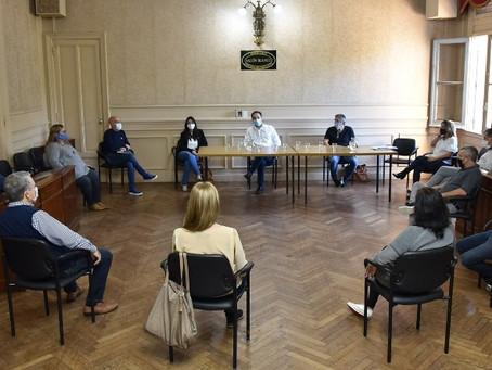 Con el foco puesto en la pandemia, Abella se reunió con los concejales de Juntos por el Cambio
