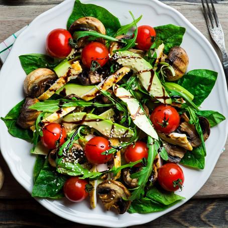 Sharon's Kale & Avocado Salad